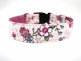 """Hundehalsband mit Klickverschluss """"Malvenblümchen"""""""