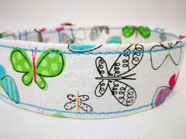 """Hundehalsband mit Klickverschluss """"Schmetterling"""""""
