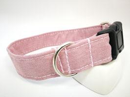 "Hundehalsband mit Klickverschluss ""Outdoor-rosa"""