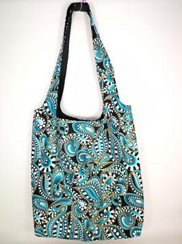 "New Edition 2020 Shopping-Bag ""Paisley Style türkis"""