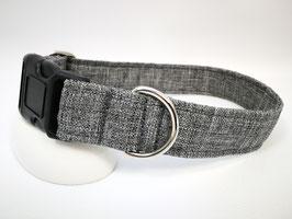 """Hundehalsband mit Klickverschluss """"Outdoor-grau"""""""