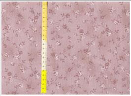 "Hundehalsband mit Klickverschluss ""Roses vintage rosa ton in ton"""
