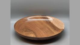 Schalenteller Holz, Nussbaum 5 x 21 cm