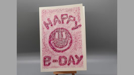 Happy B-Day, pink