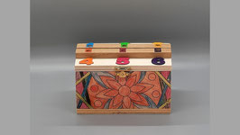 Würfelspiel aus Holz, Alli nüni is Böxli
