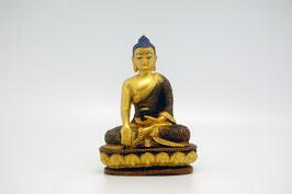 Buddha Figur Kunstharz Bhumisparsha Mudra