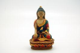 Buddha Figur Kunstharz klein