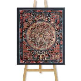 30x36 cm, Buddha mandala thangka