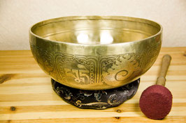 singing bowl Nepal, Ø 25 cm, 1650g