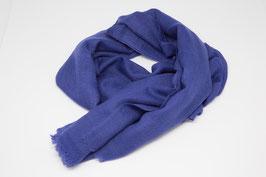 pashmina classic shawl - 100% cashmere blue diamond