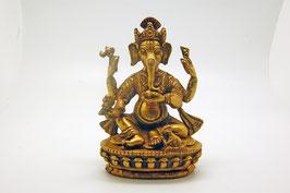 Ganesha Messingfigur groß