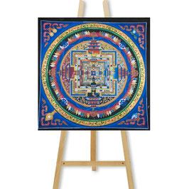 45x45 cm, Kalachakra Mandala Bunt Thangka