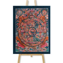 31x39 cm, Wheel of Life medium