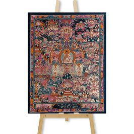 41x53 cm, Buddha's Life big thangka