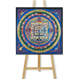 45x45 cm, Kalachakra mandala colorful thangka