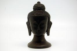 Buddha Kopf schwarz