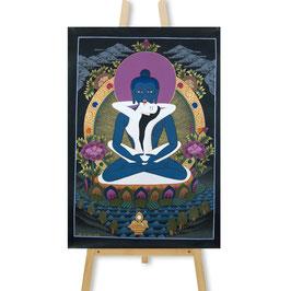 41x56 cm, Kundalini Buddha