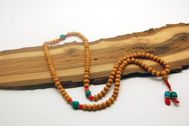 Sandelholz Mala Gebetskette