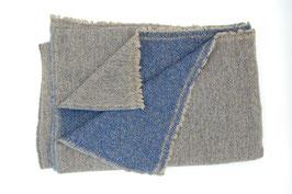 Yakwollschal - blau