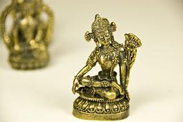 Messingfigur, Saraswati, klein