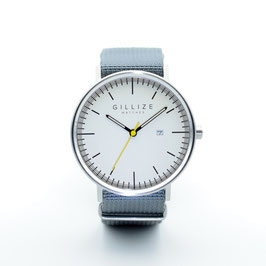 MENO -white- (Steel-gray)