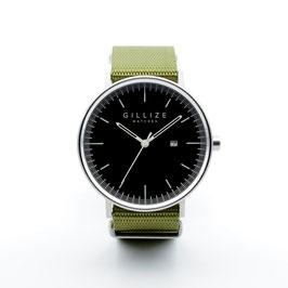 MENO -black- (Olive-green)