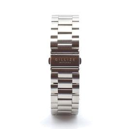 Strap: (Steel-silver)