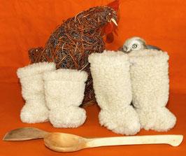 Baby-Stiefelchen aus Wollflor