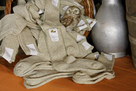 Wollsocken, dick - natur oder anthrazit