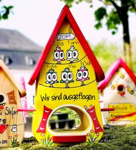 Kindergarten Abschiedsgeschenk Futterhaus XL