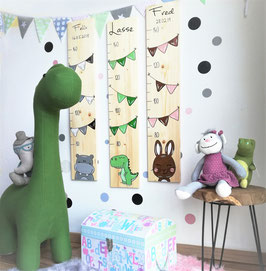 Dino- Messlatte Kinder, Messlatte Kinderzimmer