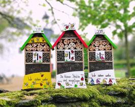 Insektenhotel Bienen und Marienkäfer