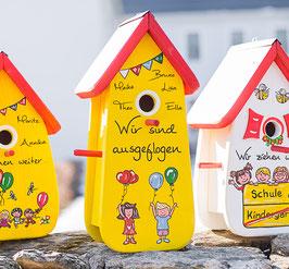 Kindergarten Abschiedsgeschenk Nistkasten