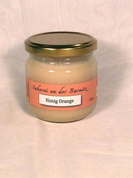 Honig mit Orange