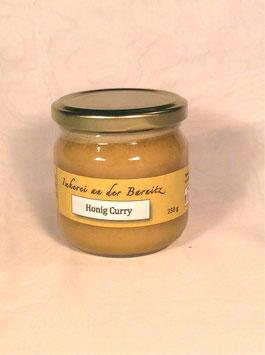 Honig mit Curry