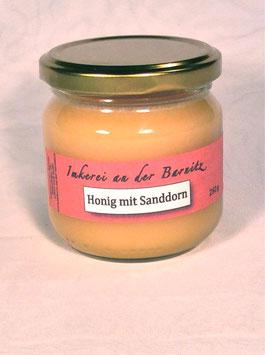Honig mit Sanddorn