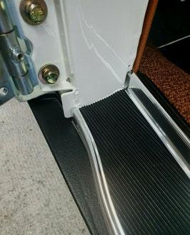 Gummibelag-Paar an Tür-Einstieg Mercedes W113 Pagode