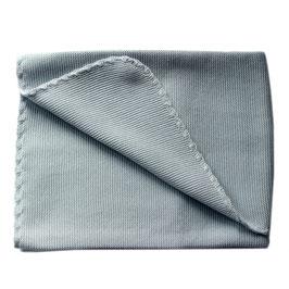 Selana Babydecke Baumwolle grey