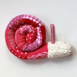 Puckschnecke Patch pink