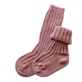Grödo Babysocken Wolle rose