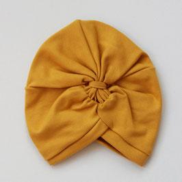 Wooly Organic Turbanhat gelb