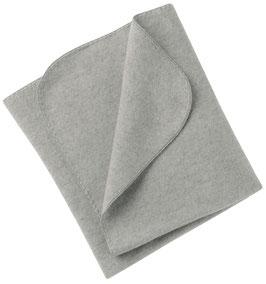 Engel Decke Wollfleece grau