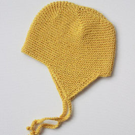 Alpakamütze gelb