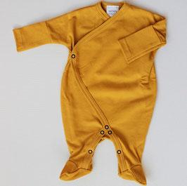 Wooly Organic Schlafanzug gelb