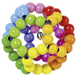 Greifling Elastikball Regenbogen