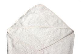 Leela Cotton Kapuzenbadetuch natur