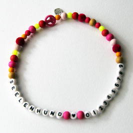 NameChain pink-orange