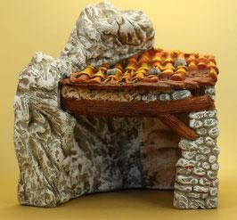 Maison Etable rocher petit modèle