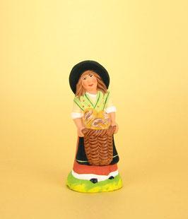 Enfant fille au pain