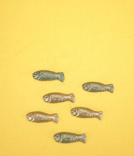 Lot de 6 poissons